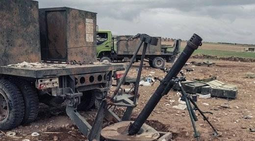 Сирия: в боях потеряны новые 120-мм самоходные минометы