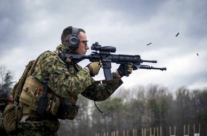 Корпус морской пехоты США получит обновленную винтовку M38