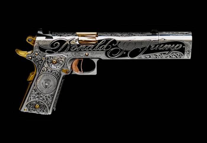 Президентский пистолет Donald Trump Gun