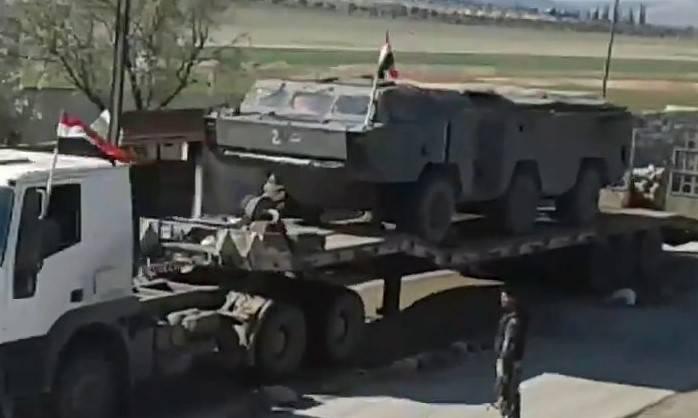Огненные кулаки: террористов под Дамаском накроют
