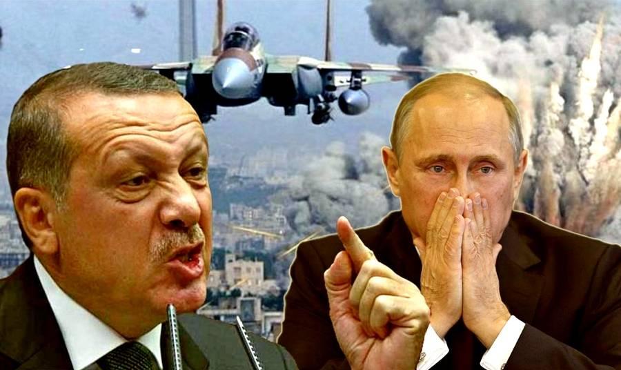 Эрдоган предупредил Путина по Сирии