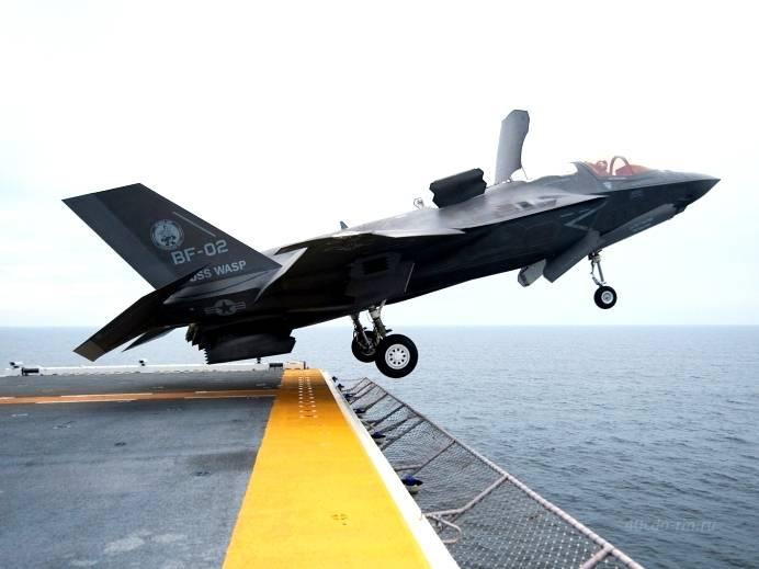 США не могут эффективно использовать флот и F-35 в борьбе с Россией на море