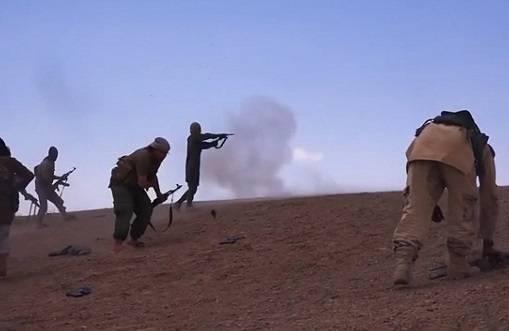 В то время, как основные силы САА стянуты в Дамаск, боевики ударили в Даръа