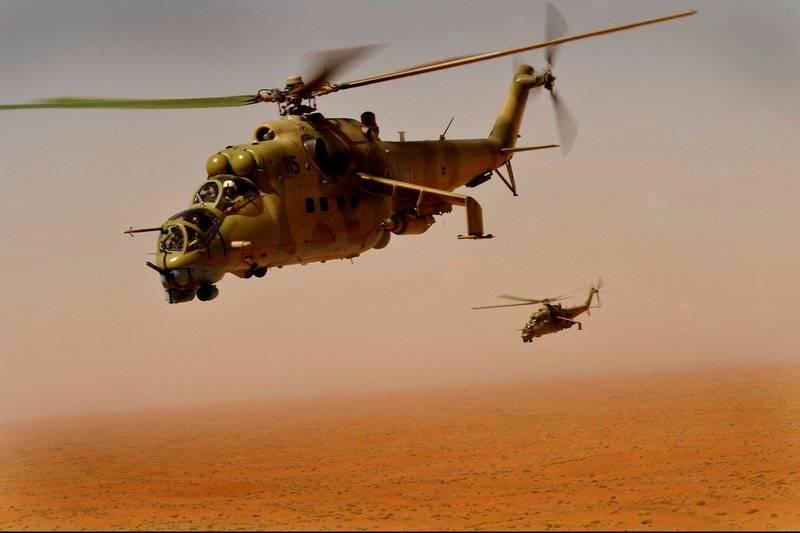 Ми-24 и Ми-35: в России разрабатывают новую версию боевых вертолетов