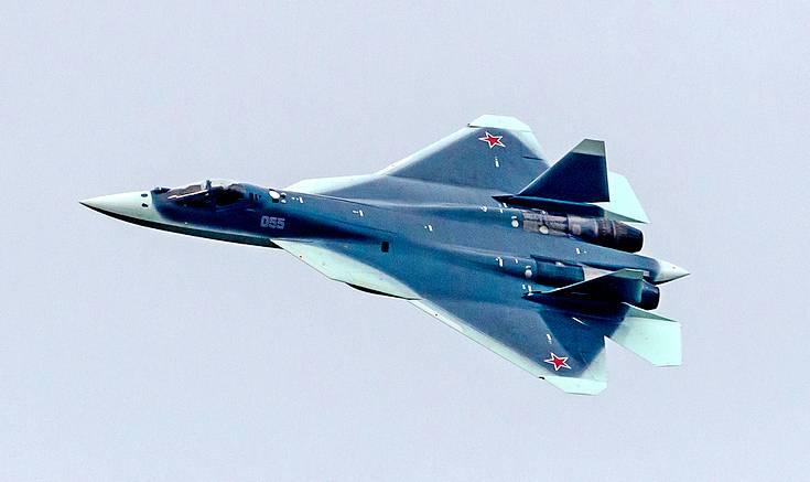 Западный спутник-разведчик снял российские Су-57 в Хмеймиме