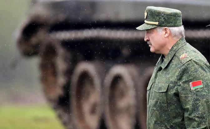Лукашенко испугался войны