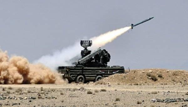 Ракета ЗРК «Оса» боевиков  поразила военный вертолёт под Дамаском
