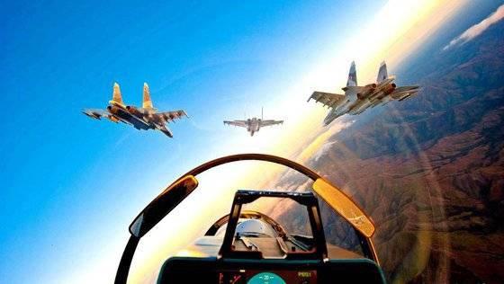 ВКС РФ точечно бьют с воздуха, пока САА ведут  прицельный обстрел по ИГ
