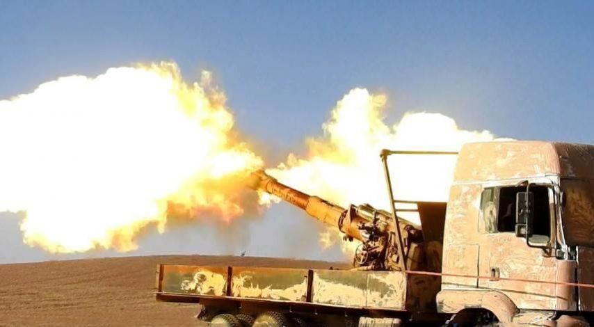 Огромное наступление на авиабазу Т-2: боевики атакуют САА, десятки убитых
