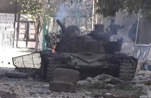 Сирийские военные потеряли очень редкий  Т-72