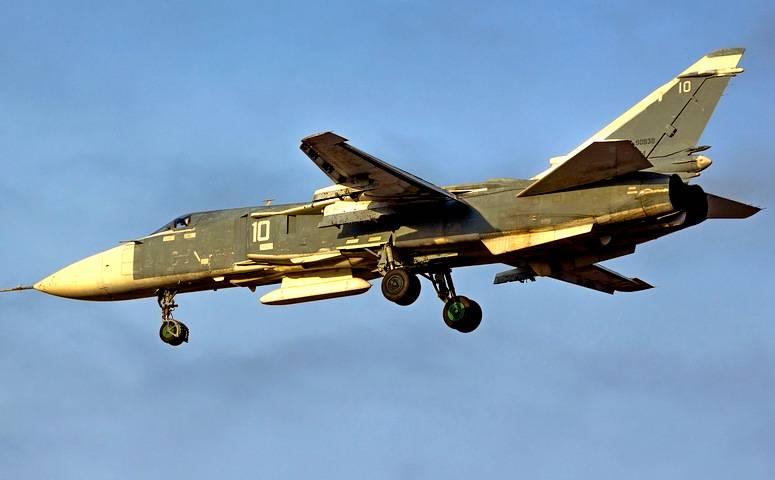 Бомбардировщик Су-24 сбит из ПЗРК в Сирии