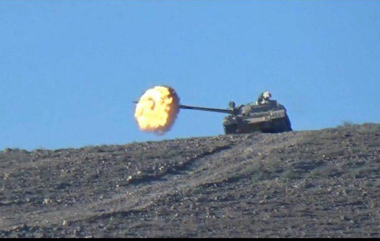 Бойня в Восточной Гуте: боевики начали мощную атаку на САА в горах Каламун