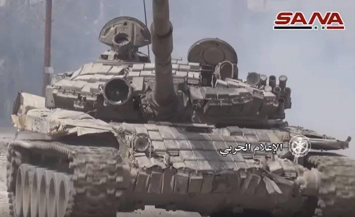 Танки Т-72 с