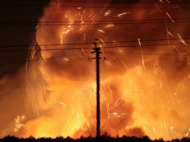 В Калиновке под Винницей снова гремят взрывы