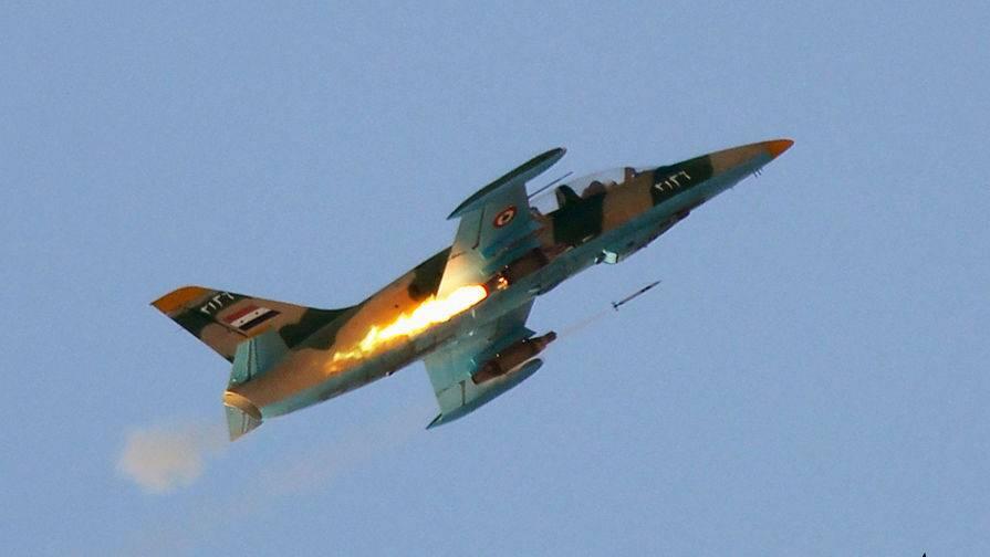 Кадры ударов в Даръа: авиация сорвала планы боевиков
