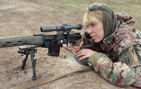 Снайпер Белозерская: Донбасс нужно возвращать только вооруженным путем