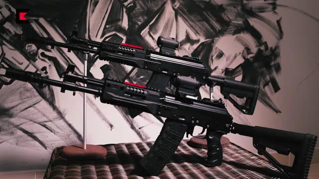 Особенности нового АК-15 показали на видео