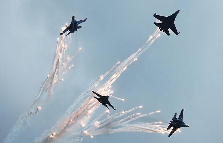 Русские летчики показали, на что способны