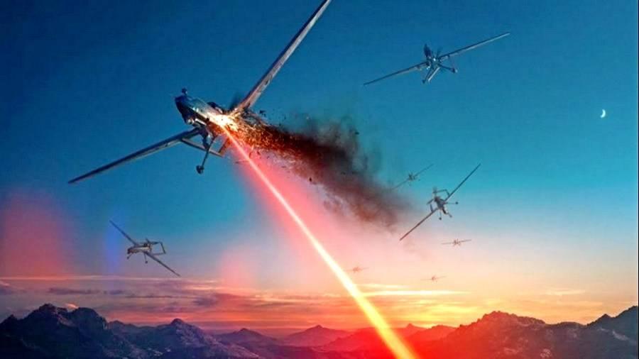 Лучевое оружие: Загадочный прибор сбивает украинские беспилотники