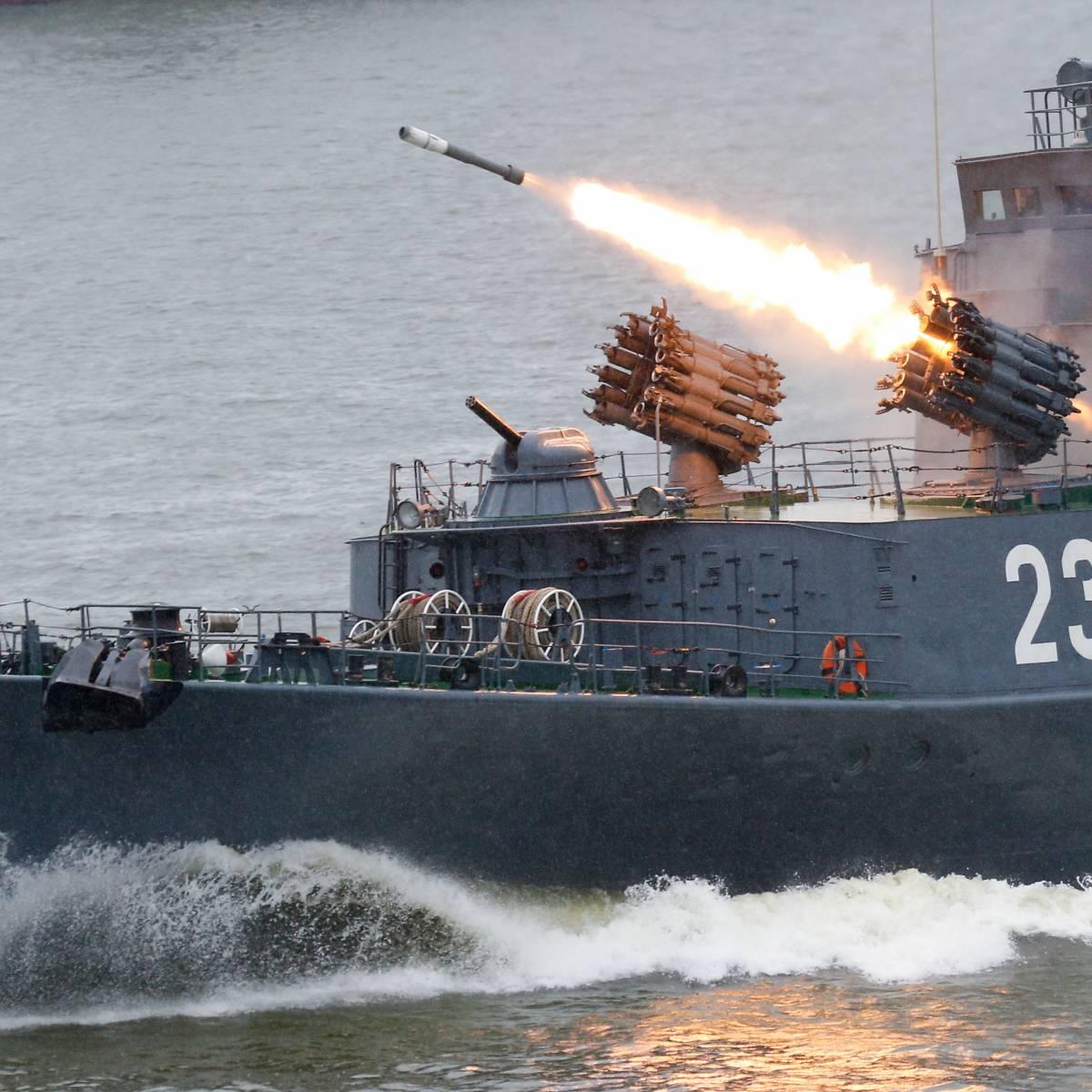 Cпрос на российские военные корабли растет в геометрической прогрессии