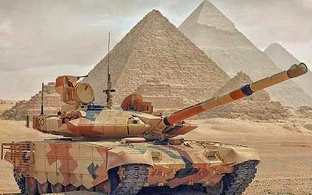 Лицензионная сборка российских Т-90С в Египте