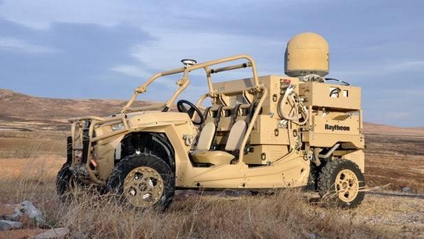 В США прошли испытания боевой багги с лазером