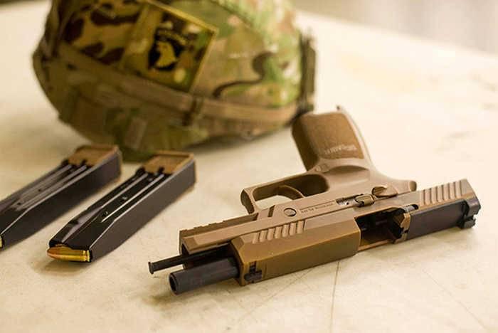 Корпус морской пехоты США вслед за армией переходит на пистолеты MHS