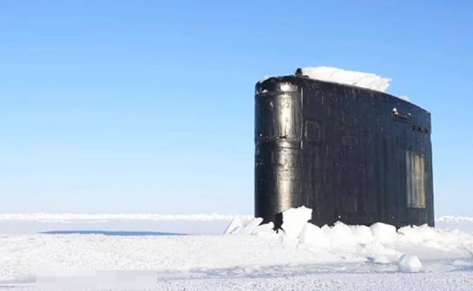 «Генерал мороз» помог России остановить американские субмарины
