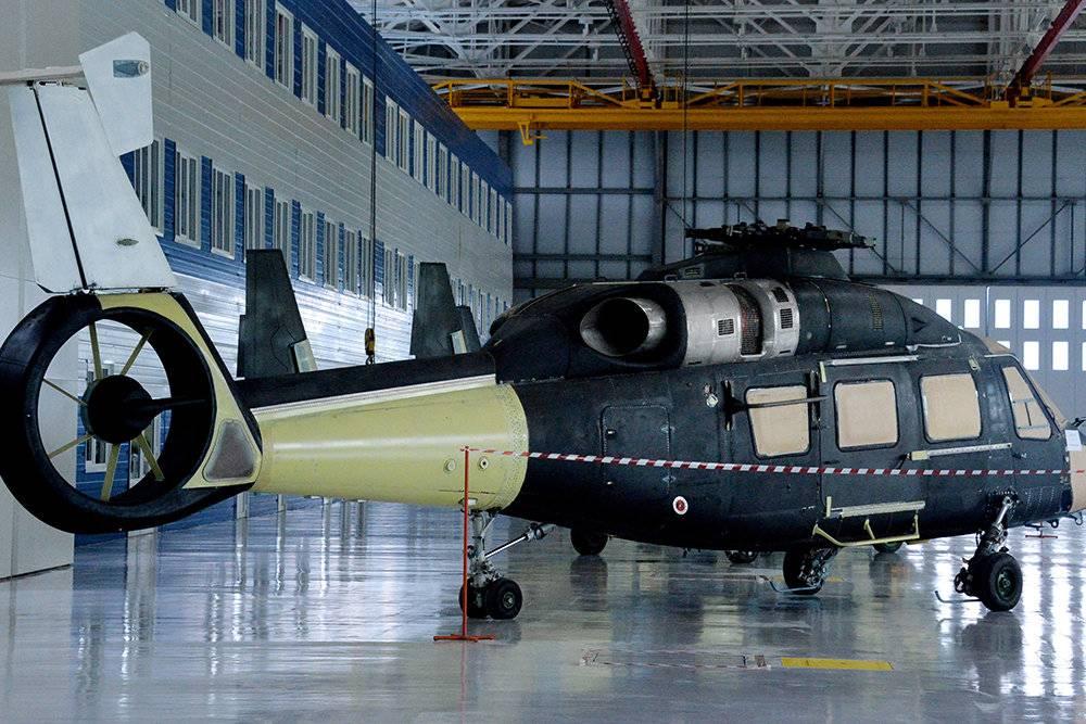 Для Минобороны РФ разработали военную версию вертолета Ка-62