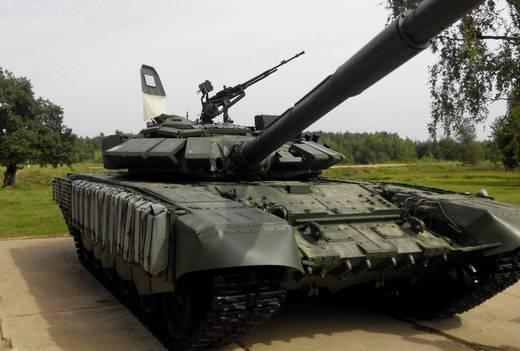 В Дальневосточное ВОКУ поступили новые танки Т-72Б3М