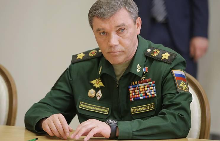 Генерал РФ Герасимов раскрыл, кто управляет боевиками в Сирии