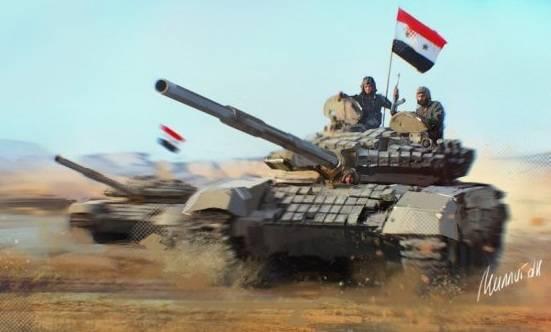 Масштабное наступление в Дамаске: «Силы тигра» атакуют под прикрытием ВВС