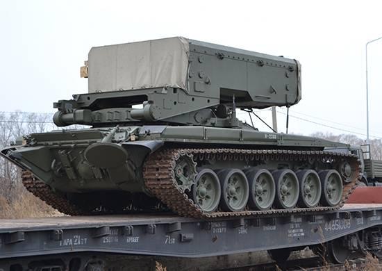 В Приамурье поступила первая партия ТОС-1А