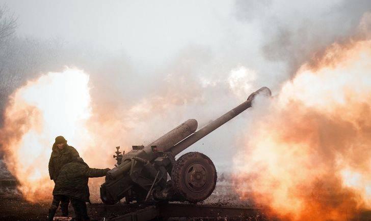 Артиллерийская дуэль у Спартака: ополчение дает жесткий отпор ВСУ