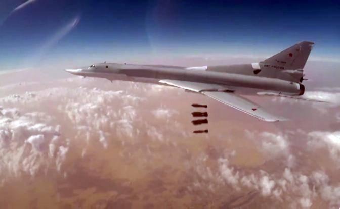 Русский ответ на американскую бомбардировку