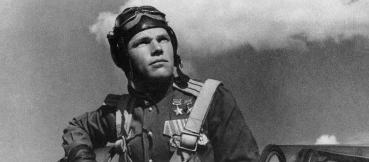 Первый сбитый самолет Иваном Кожедубом