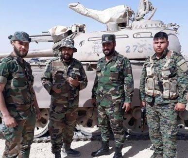 САА прорывается в котле в Каламуне: кадры захваченных трофейных танков
