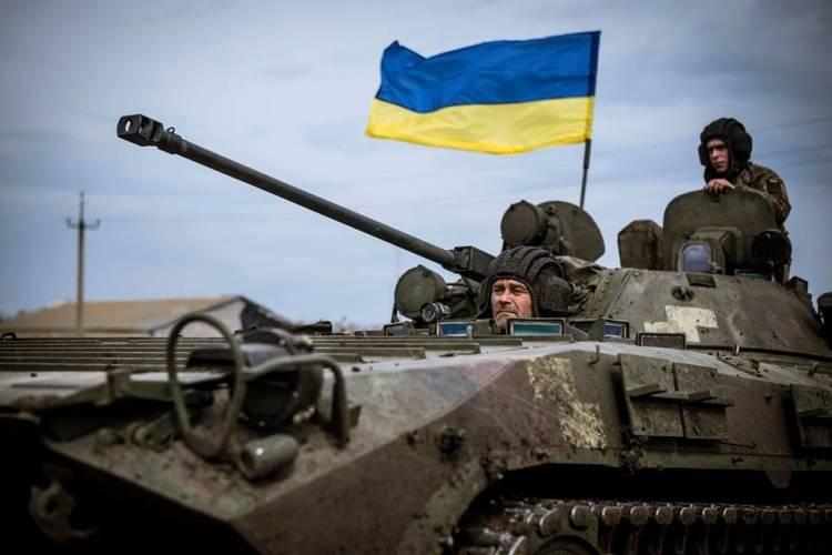 При попытке нанести артудар по ДНР подорвались восемь радикалов из «Азова»