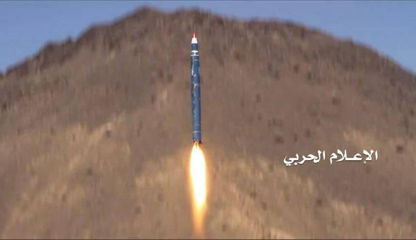 Ещё одна ракета повстанцев Badr-1 «прилетела» на военный аэродром саудовцев