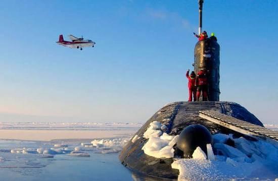 Вмерзают ли в лед субмарины?