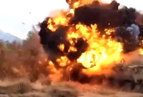 240-мм миномет «Тюльпан» разорвало на учениях в России