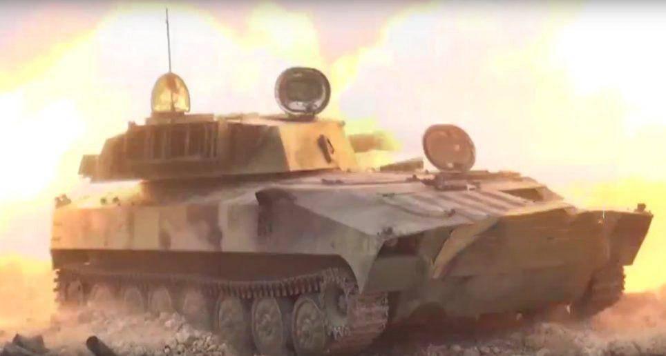 Крупная атака в Хаме: САА уничтожают четыре укрытия боевиков