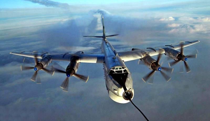 Русский Ту-95 «Медведь» затроллил американцев
