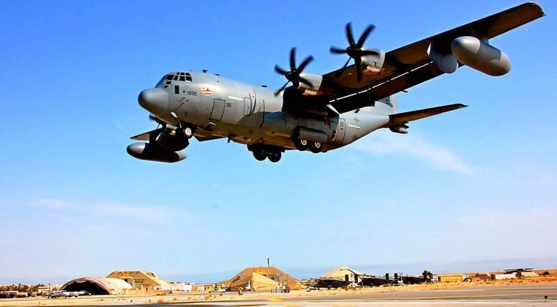 «Наш EC-130 просто выключили»: США заявили о радиоэлектронной атаке в Сирии