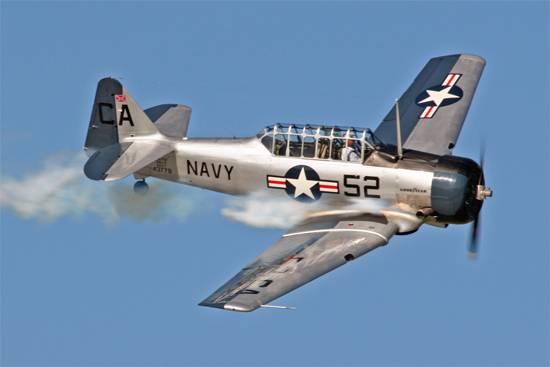 Не первый случай: В США рухнул самолет времен Второй мировой войны