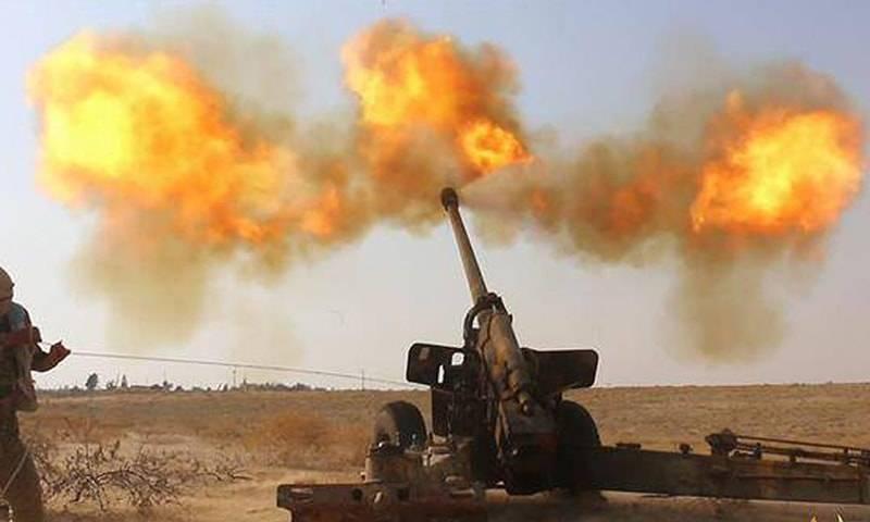 Артиллерийские удары в Эль-Кунейтре: САА уничтожила огневые точки боевиков