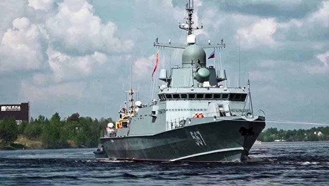 «Ураган» в море: опубликовано видео испытаний нового ракетного корабля РФ