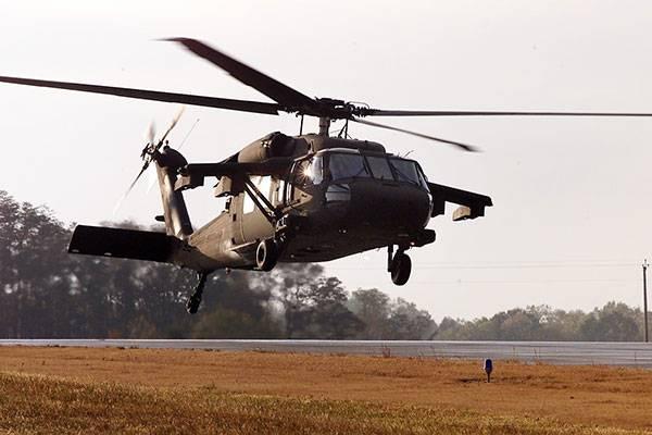 Вертолет Black Hawk армии США пробил крышу школы ящиком с боеприпасами