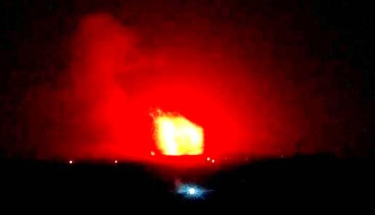 Мощные взрывы гремят на иранской базе к югу от Дамаска