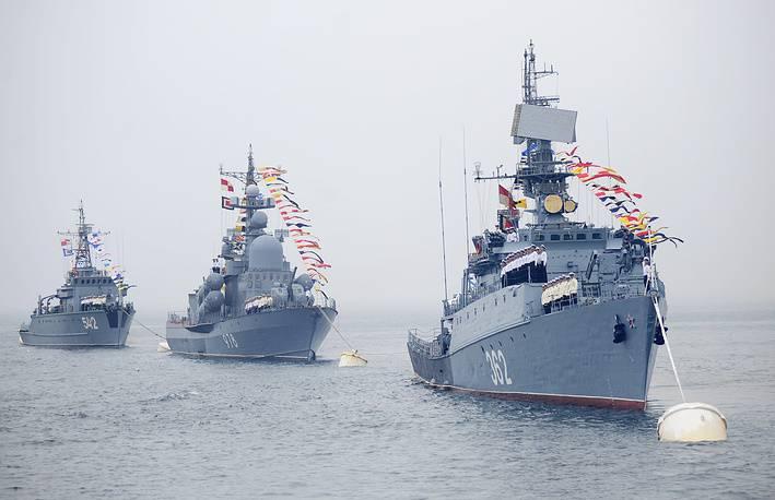 Тихоокеанский флот России отмечает свое 287-летие